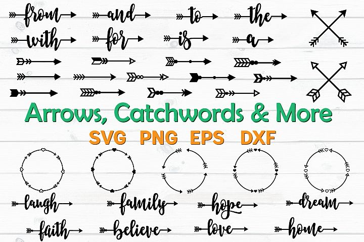 Arrows and Catchwords Bundle