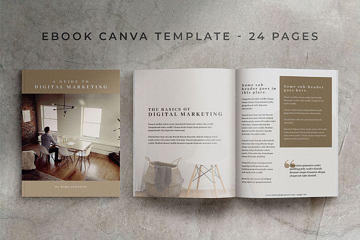 eBook Canva Template | Mink