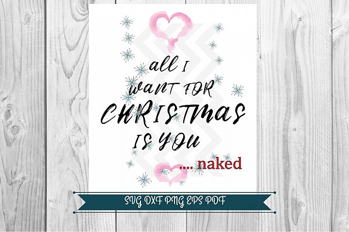 All i want for Christmas graphics download png svg pdf dxf