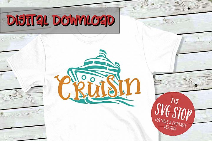 Cruise Hair Dont Care - SVG, PNG, DXF
