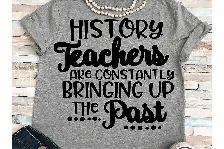 Teacher svg DXF JPEG Silhouette Cameo Cricut History past