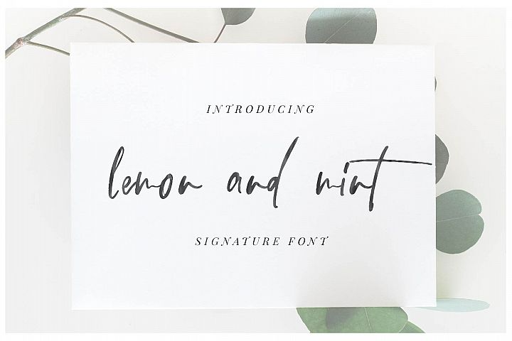 lemon and mint script