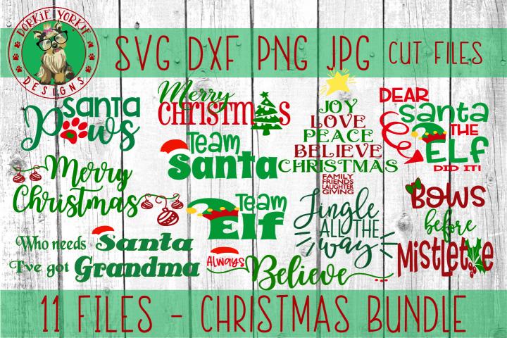 BIG Christmas Bundle - SVG cut files