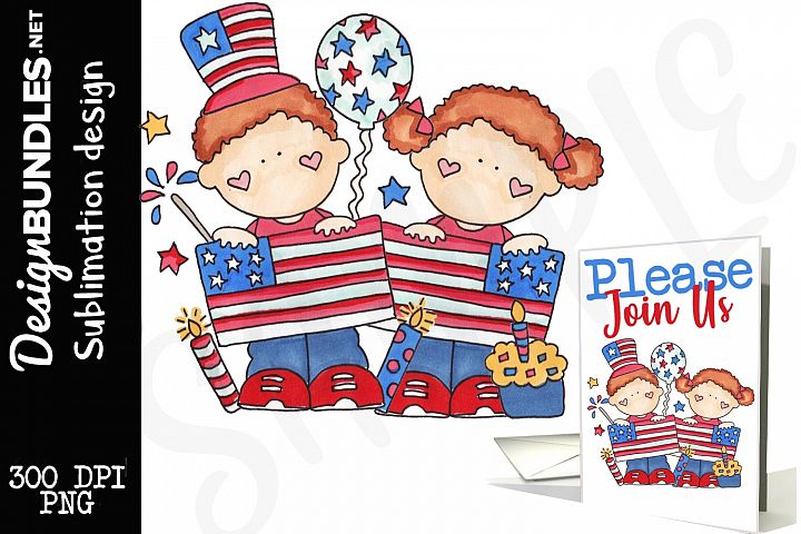 Fourth Of July Kids Design