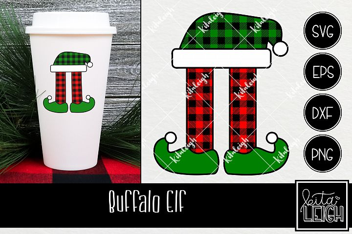 Buffalo Plaid Joy Christmas SVG