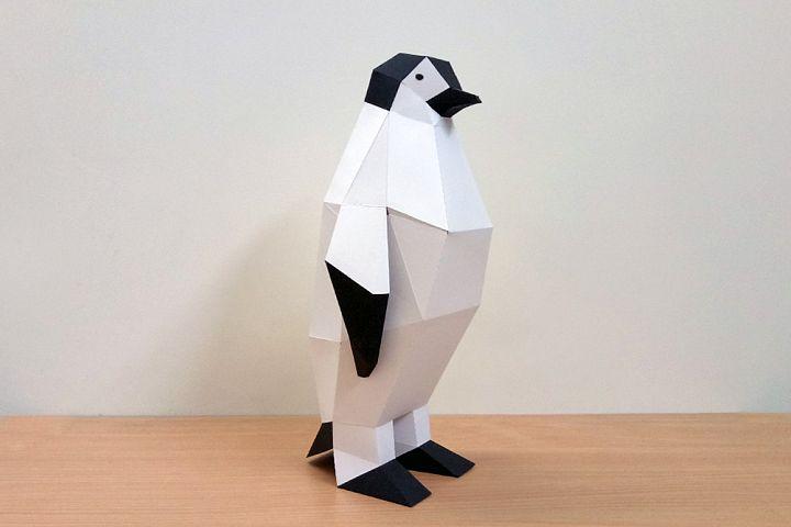 DIY Penguin - 3d papercraft
