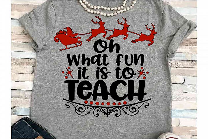 Teacher svg DXF JPEG Silhouette Cameo Cricut Christmas svg