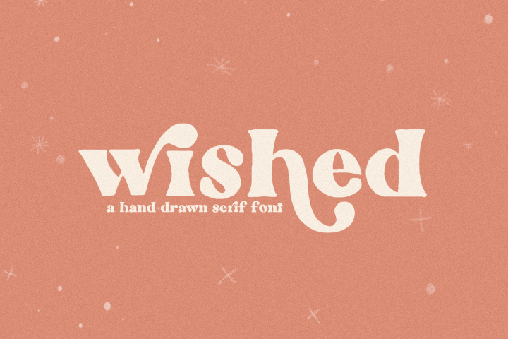 Wished - A Hand-Drawn Serif Font