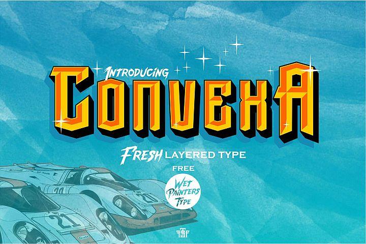 Convexa Typeface