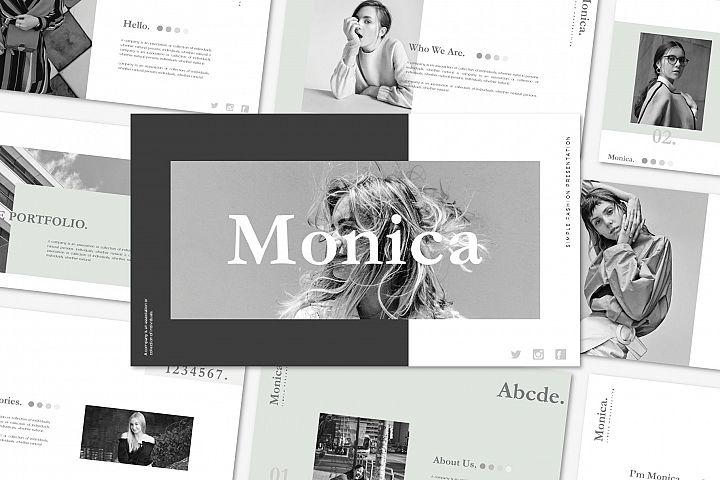 Monica - Keynote Template