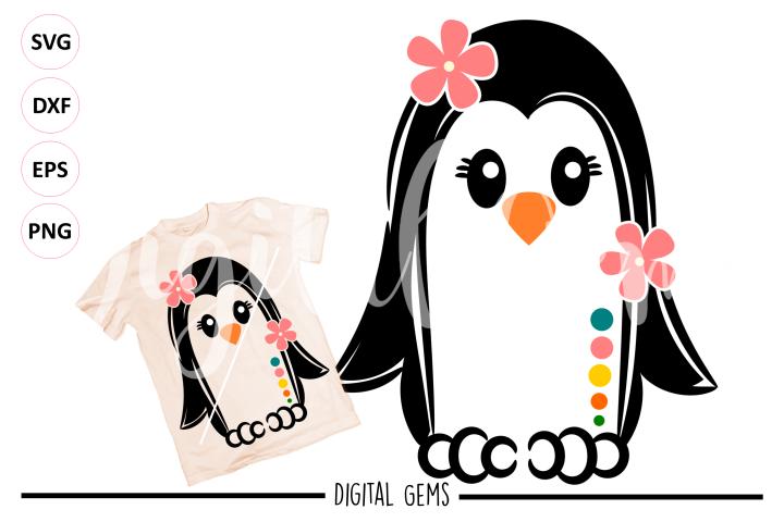 Penguin SVG / PNG / EPS / DXF Files