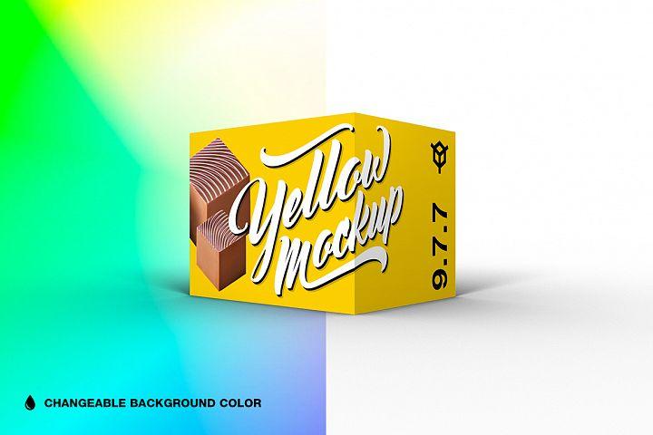 9.7.7 Simple 3D Box Mockup PSD
