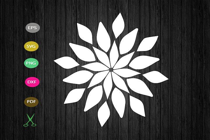 sunflower svg cut file,flower svg craft, flower floral svg,