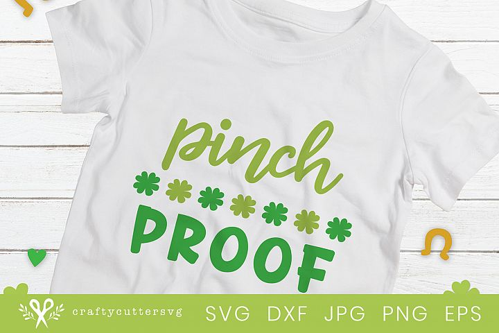 Pinch Proof St Patricks Day Party Shirt Cricut Silhouette