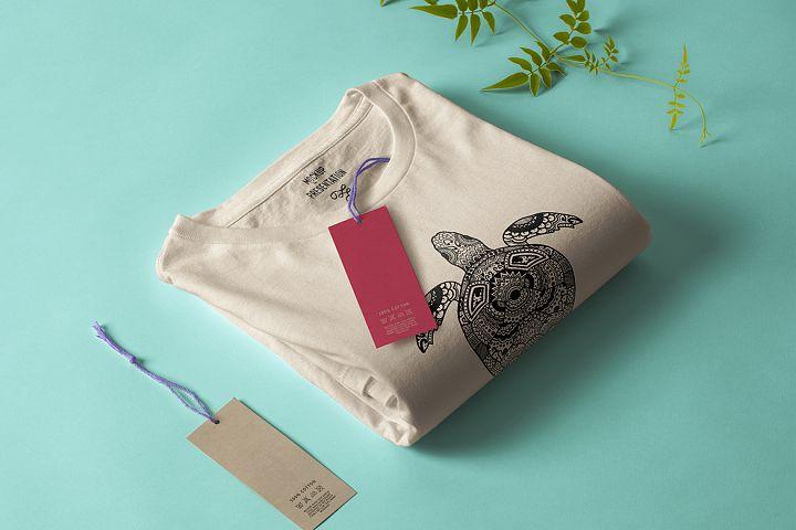 Turtle Mandala T-shirt Design Vector Illustration