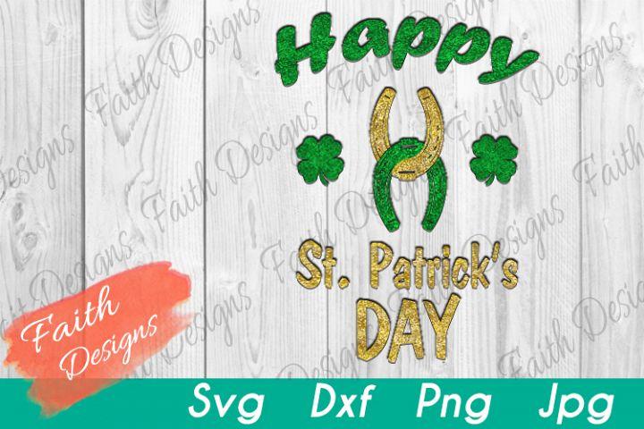 Happy St. Patricks Day Horseshoes