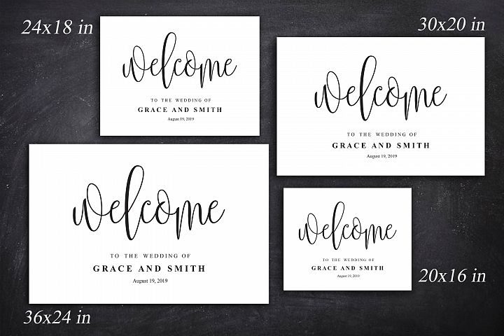 Wedding Welcome Template