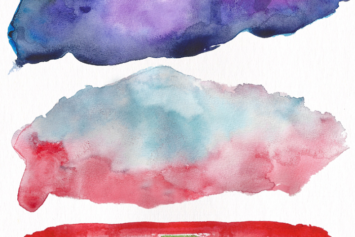 Watercolor Textures - card edition - Free Design of The Week Design 8