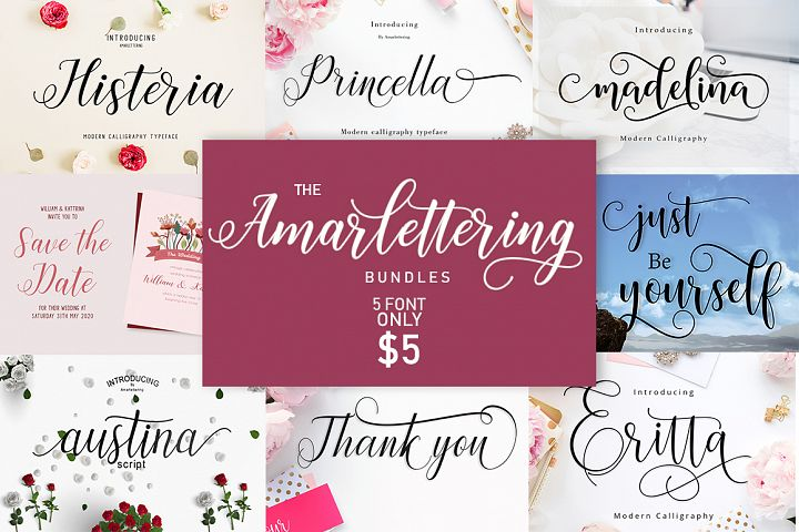 The Amarlettering Bundles