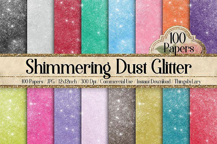 100 Shimmering Dust Glitter Fantasy Fairy Tale Digital Paper