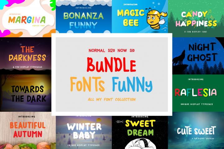 Funny Font Bundles