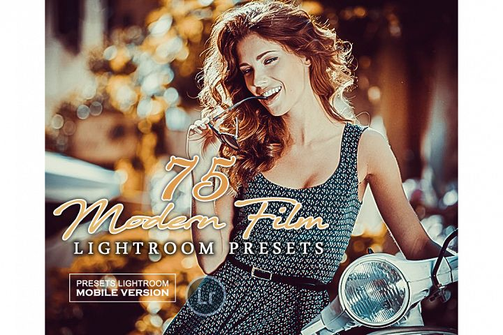 Modern Film Lightroom Mobile Presets Adroid and Iphone/Ipad