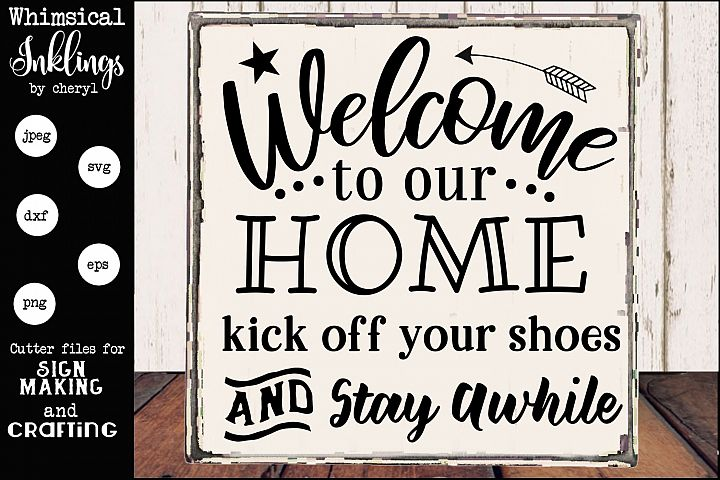 Kick Off Your Shoes-Front Porch SVG
