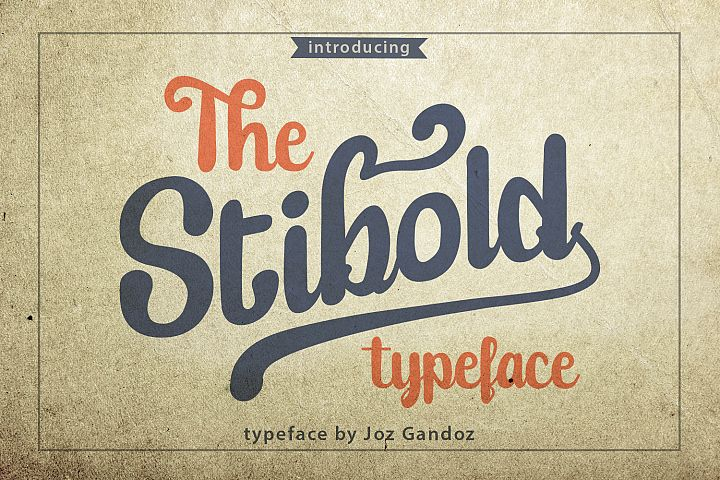 Stibold - Quote Typeface