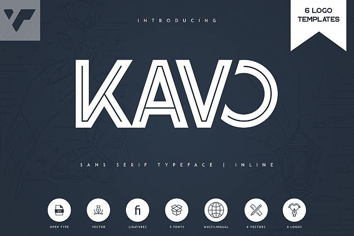 Kavo Inline 6 Logo Templates