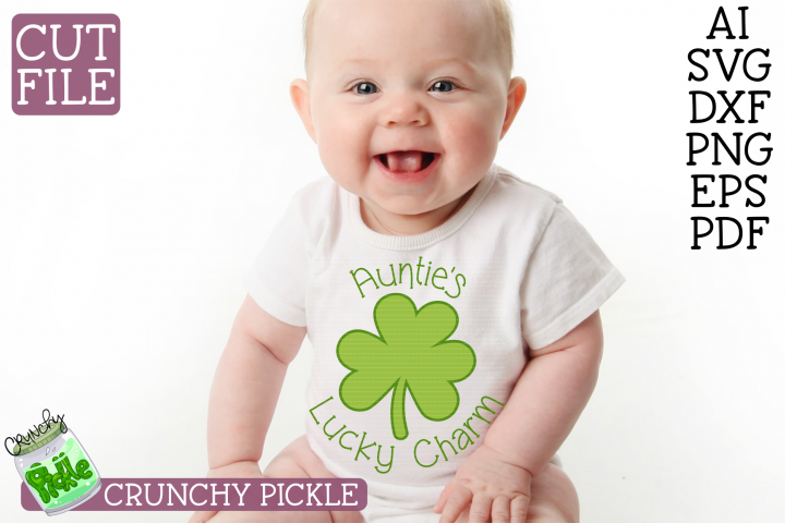Aunties Lucky Charm Svg File