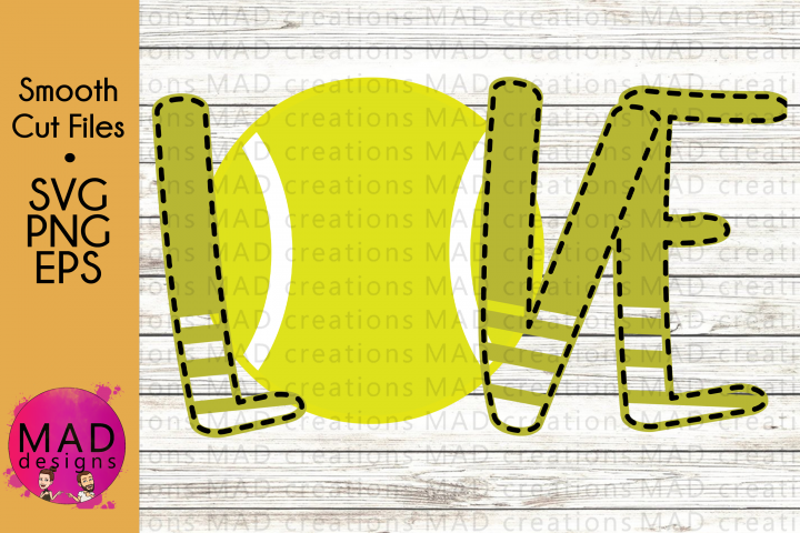 Sports - Love Tennis - SVG, PNG, EPS