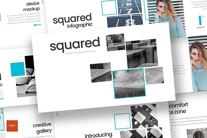 Squared - Powerpoint Template