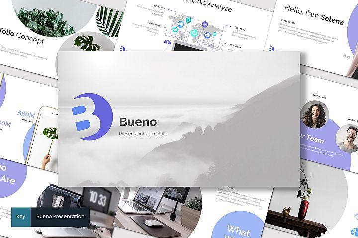 Bueno - Keynote Template