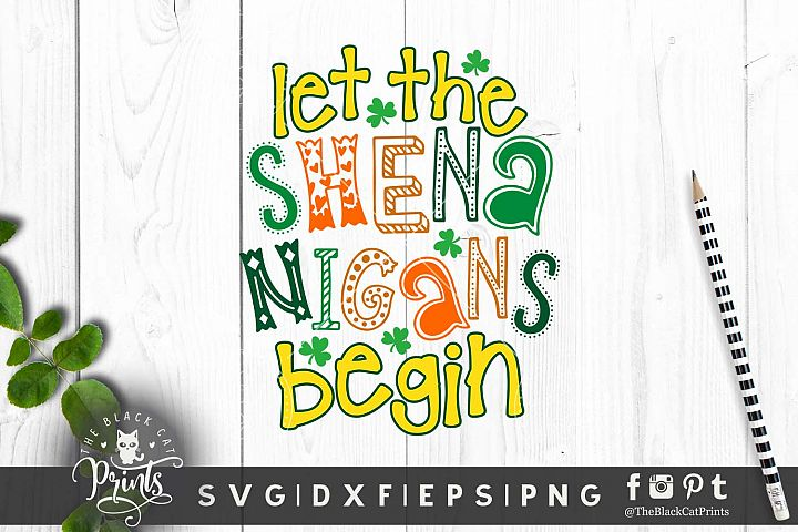 Let the Shenanigans begin SVG DXF EPS PNG