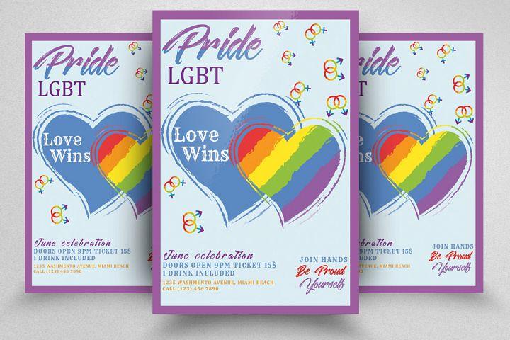 LGBT Pride Party Flyer