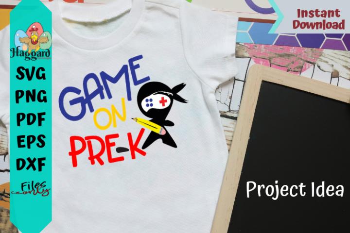 Game on prek Grade