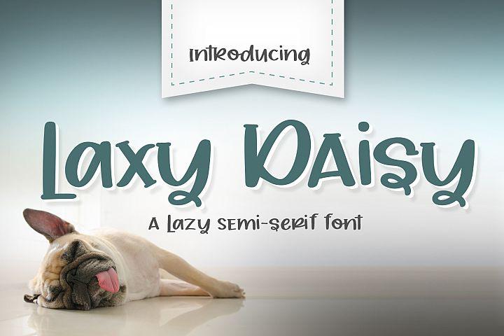 Laxy Daisy
