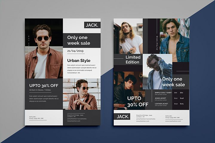 Jack fashion flyer