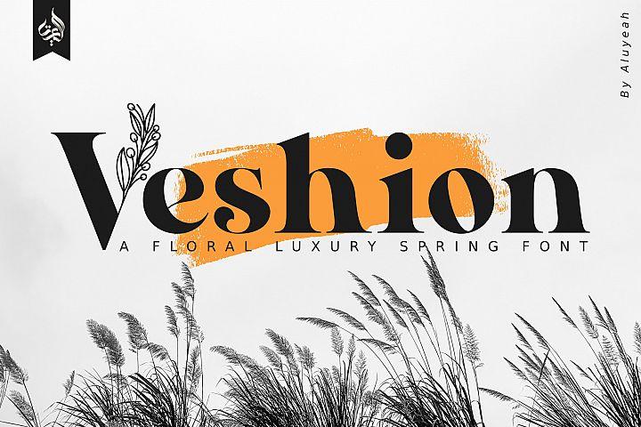 AL Veshion | Floral Spring Font