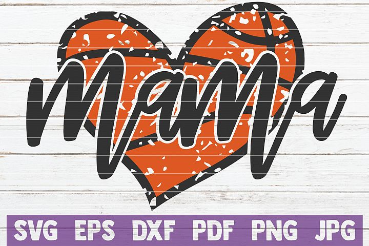 Basketball Mama SVG Cut File | commercial use