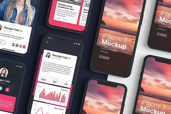 Presentation Kit - iPhone showcase Mockup_v2