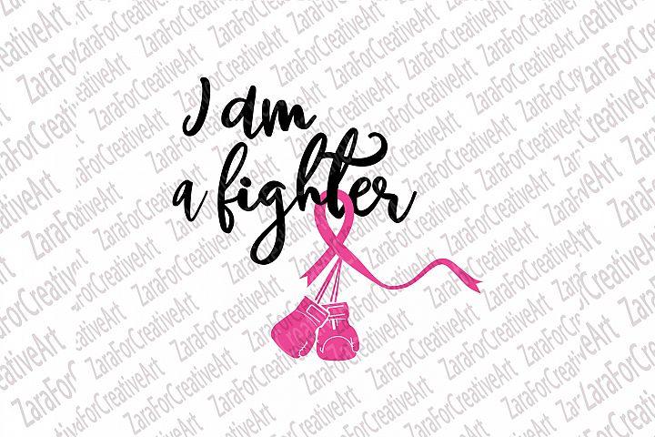 I am a Fighter SVG