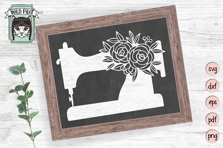 Sewing Machine SVG, Sewing Machine Cut file, craft, sew
