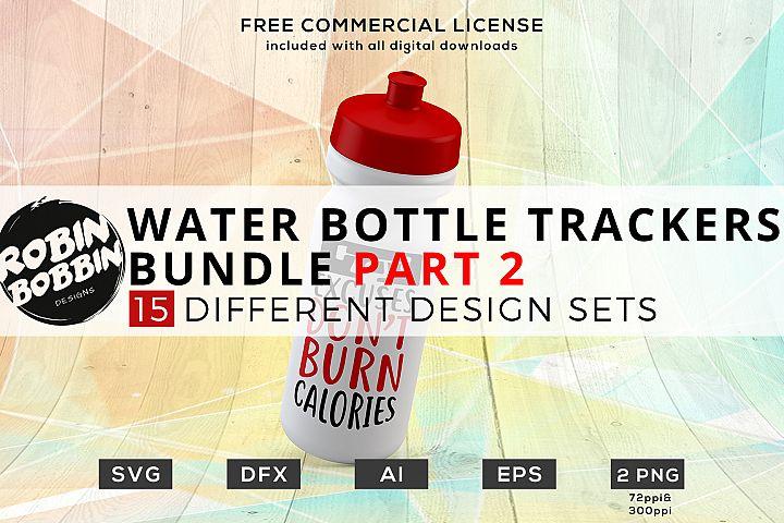 Water Bottle Trackers Bundle Part 2