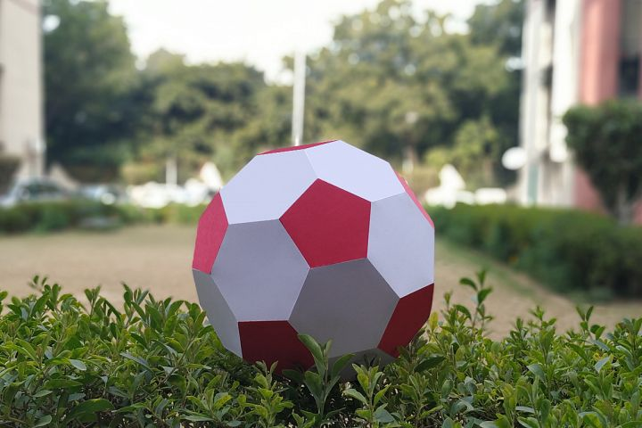 DIY Football - 3d papercraft