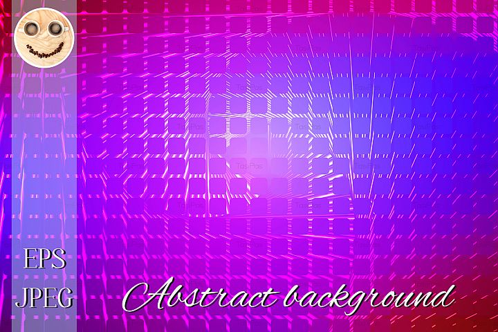 Pink purple blue spiral rounded mosaic background