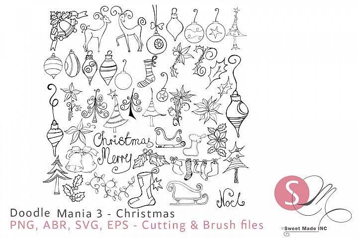 Doodle Mania 3 - Christmas