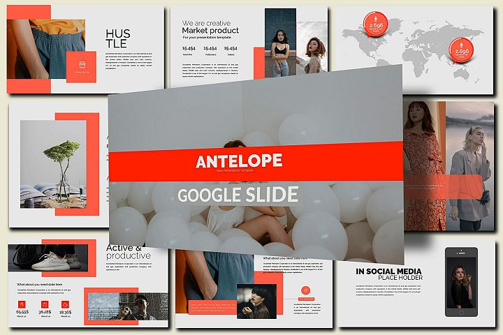 Antelope Lookbook Google Slides Presentation