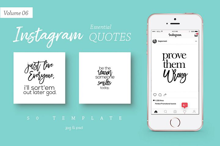 50 Instagram Essential Quotes Vol. 6