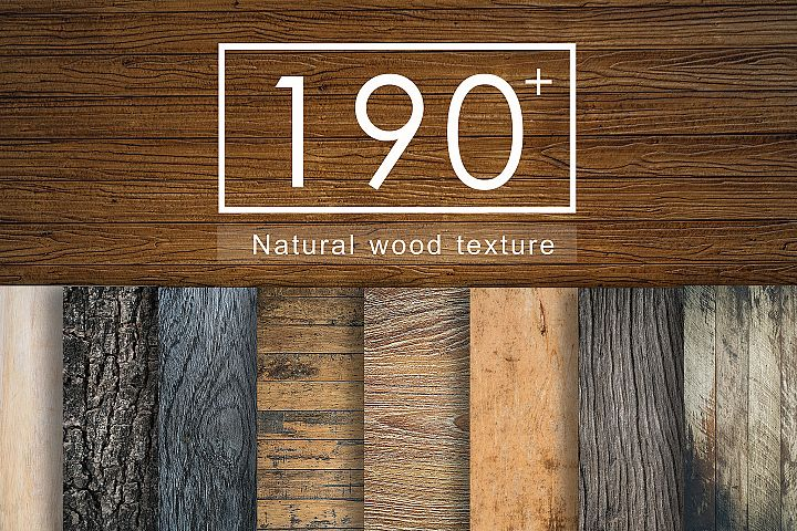 190+ Wood texture background set